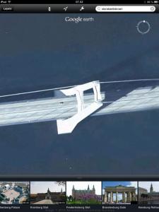Google Earth - pylon på Storebæltsbroen